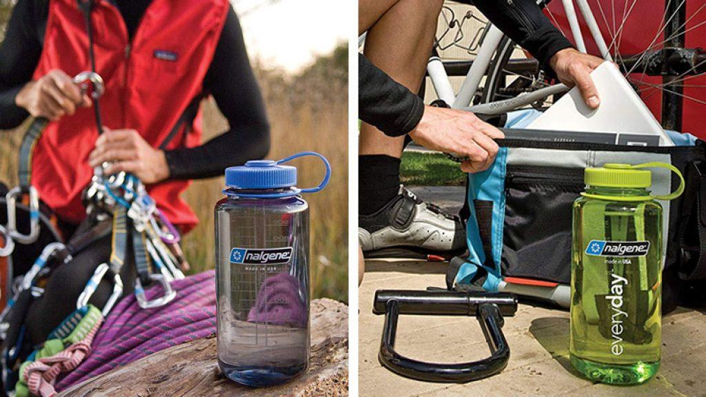 Nalgene, une Bouteille d'eau parfaite pour l'escalade et le vélo