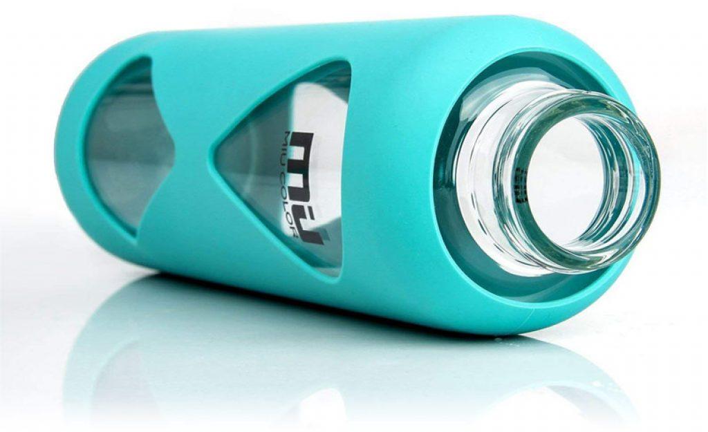 Bouteille d'eau en verre Miu Color