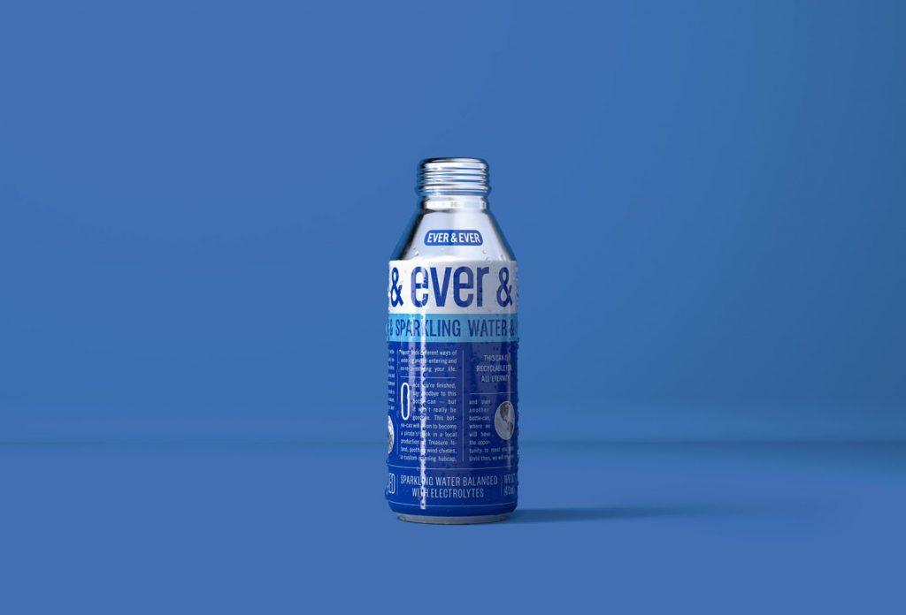 Bouteille d'eau en aluminium Ever & Ever