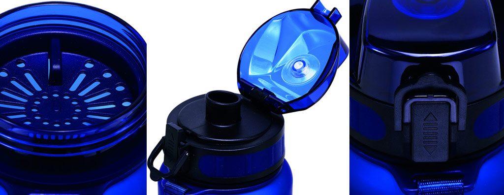 Détails de la Bouteille d'eau Sport Cressi H2O Frosted