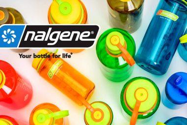 Nalgene, bouteilles réutilisables et indémodables